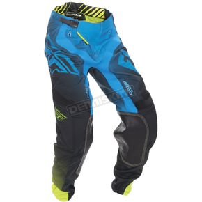 Fly Racing Blue/Hi-Vis Lite Hydrogen Pants - 370-73132