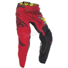 Fly Racing Red Rockstar Kinetic Pants - 370-66234