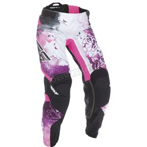 Fly Racing Youth Girl's Pink/Purple Kinetic Pants - 370-63203