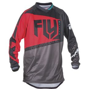 Fly Racing Red/Black/Gray F-16 Jersey - 370-9222X