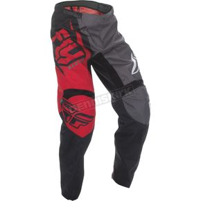 Fly Racing Youth Red/Black/Gray F-16 Pants - 370-93222