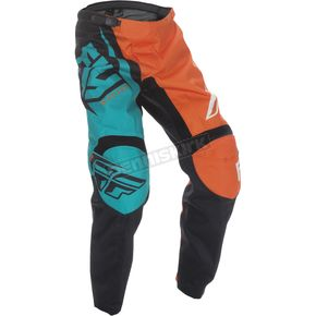 Fly Racing Youth Orange/Teal F-16 Pants - 370-93718