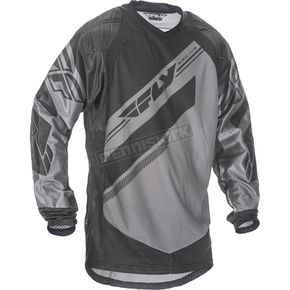 Fly Racing Gray/Black Patrol XC Jersey - 369-676S