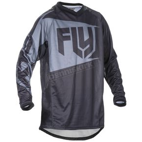 Fly Racing Black/Gray Patrol Jersey - 370-640L