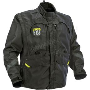 Fly Racing Black Patrol Jacket - 370-680X