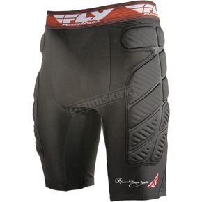 Fly Racing Black Compression Shorts - 360-9855M