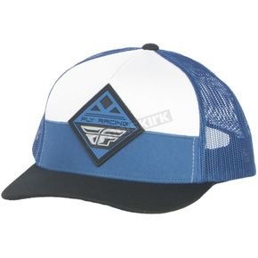 Fly Racing Blue/Steel Horizon Hat - 351-0481