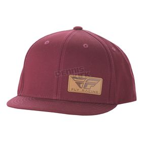 Fly Racing Burgundy Drifter Hat - 351-0601