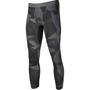 Klim Gray Camo Aggressor Cool -1.0 Base Layer Pants - 3193-000-150-330