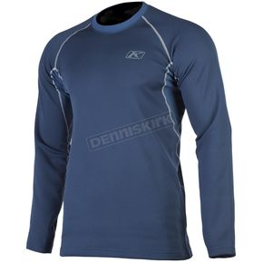 Klim Navy Aggressor 2.0 Base Layer Shirt - 3198-001-150-210
