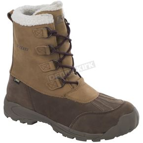 Klim Brown/Tan/White Tundra GTX Boots - 3207-000-012-900