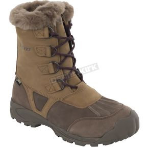 Klim Women's Brown/Tan Jackson GTX Boots - 3211-000-007-900