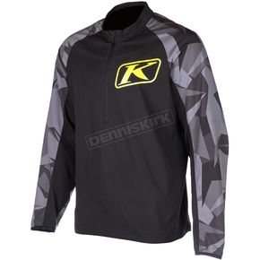 Klim Black/Gray Revolt Pullover Jacket - 3214-004-160-000