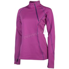 Klim Pink Women's Solstice 3.0 Base Layer Shirt - 3287-001-140-700