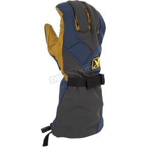 Klim Blue/Gray Togwotee Gloves - 3337-004-150-200