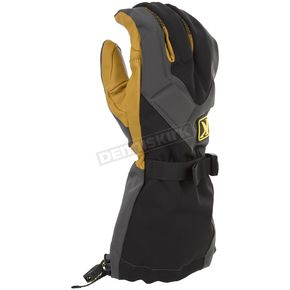 Klim Gray/Black Togwotee Gloves - 3337-004-150-600