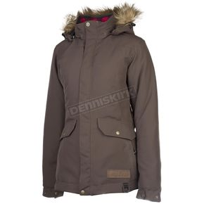 Klim Women's Brown Jackson Parka - 3382-000-150-900