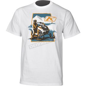 Klim White Motive T-Shirt - 3512-000-130-800