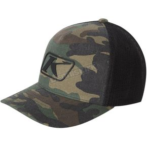 Klim Green/Brown Camo Icon Snapback Hat - 3723-000-000-300