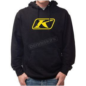 Klim Black Icon Pullover Hoody - 3731-000-140-000