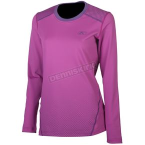 Klim Women's Pink Solstice 1.0 Base Layer Shirt - 4020-003-160-700