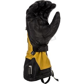 Klim Black/Brown Elite Gloves - 4096-001-120-900