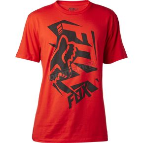 Fox Flame Red Salut T-Shirt - 18817-122-S