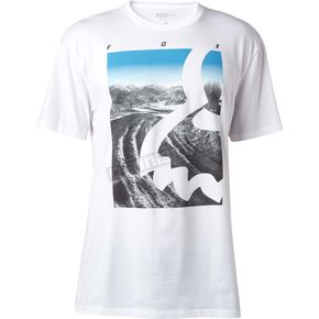Fox Optic White Eyecon Photo T-Shirt - 18824-190-M