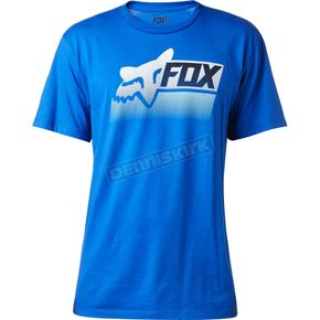 Fox Blue Processed T-Shirt - 18825-002-M
