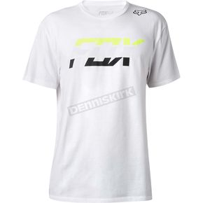 Fox Optic White Seca Splice Premium T-Shirt - 18829-190-S