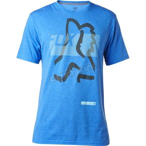 Fox Heather Blue Kamakana Tech T-Shirt - 18841-522-M