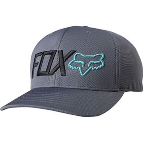 Fox Graphite Trenches Flex-Fit Hat - 18733-103-L/XL