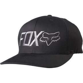 Fox Black Draper Flex-Fit Hat - 18734-001-L/XL