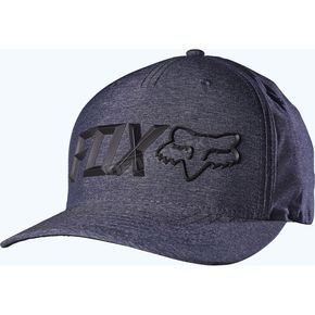 Fox Heather Navy Sonic Corp Flex-Fit Hat - 18739-428-L/XL