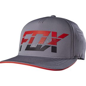 Fox Graphite Seca Splice Flex-Fit Hat - 18746-103-L/XL