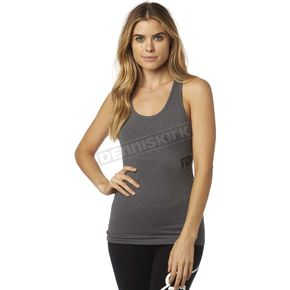 Fox Women's Heather Gray Instant Tech Tank - 17417-040-S