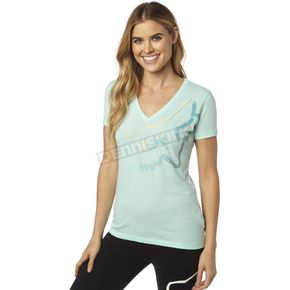 Fox Women's H2O Perfor V-Neck T-Shirt - 18551-438-L