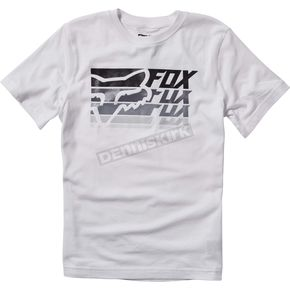 Fox Youth White Bodek T-Shirt - 19898-008-YL