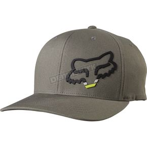 Fox Youth Gray Seca Head Flex-Fit Hat - 19946-006-OS