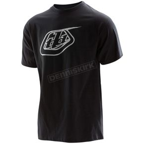 Troy Lee Designs Black Logo T-Shirt - 701200212