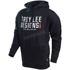 Troy Lee Designs Black Step Up Pullover Hoody - 731351294