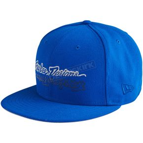 Troy Lee Designs Blue All Time Snapback Hat - 712350390