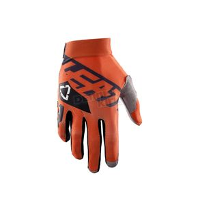 Leatt Orange/Black GPX 2.5 X-Flow Gloves - 6017310603