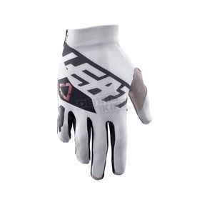 Leatt White/Black GPX 2.5 X-Flow Gloves - 6017310663