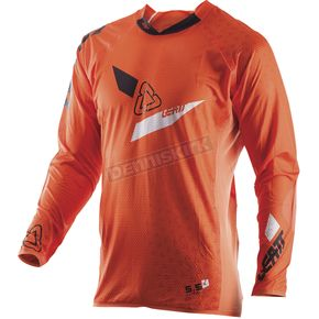 Leatt Orange/Black GPX 5.5 UltraWeld Jersey - 5017910401