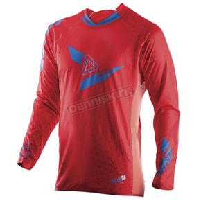 Leatt Red/Blue GPX 5.5 UltraWeld Jersey - 5017910421