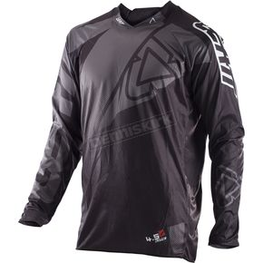 Leatt Black/Gray GPX 4.5 Lite Jersey - 5017910463