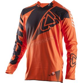Leatt Black/Orange GPX 4.5 Lite Jersey - 5017910474