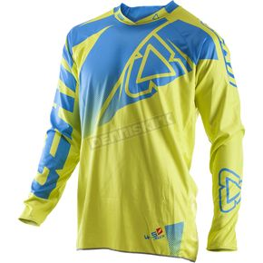 Leatt Lime/Blue GPX 4.5 Lite Jersey - 5017910500