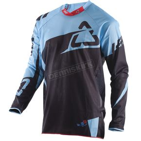 Leatt Black/Blue GPX 4.5 X-Flow Jersey - 5017910550